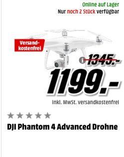 DJI Phantom 4 Advanced Drohne - jetzt -55% billiger