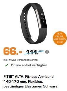 Fitbit Unisex Fitness Armband Alta - jetzt 27% billiger