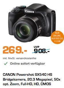Canon PowerShot SX540 HS Digitalkamera  - jetzt 9% billiger