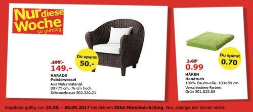 IKEA HARADS Polstersessel, schwarzbraun - jetzt 25% billiger