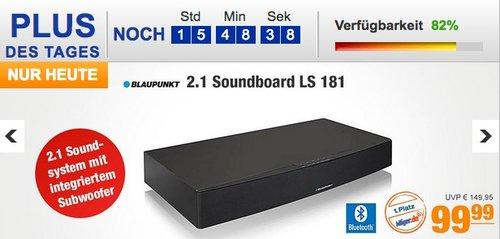 Blaupunkt LS 181 2.1 Soundboard mit integriertem Subwoofer - jetzt 29% billiger