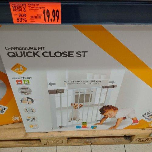 Safety 1st Quick Close ST Treppenschutzgitter - jetzt 27% billiger