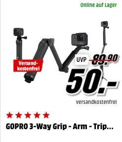 GoPro 3-Wege Halterung - jetzt 18% billiger