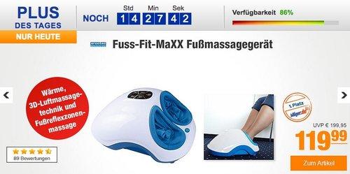Fuss-fit-Maxx Fussmassagegerät - Wellness Oase - Fußreflexzonen Massagegerät - jetzt 10% billiger