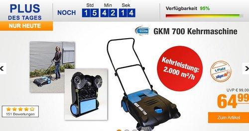 Güde Kehrmaschine GKM 700 - jetzt 12% billiger