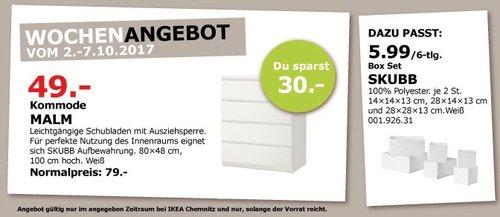 IKEA MALM Kommode, 80x48 cm, 100 cm hoch, weiß - jetzt 38% billiger