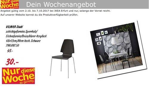 IKEA VILMAR Stuhl - jetzt 33% billiger