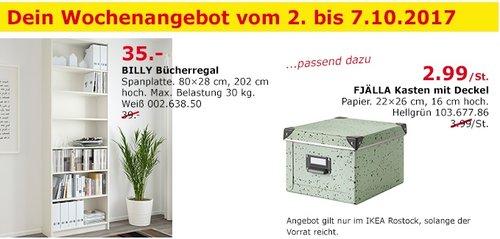 IKEA BILLY Bücherregal, 80x28 cm, 202 cm hoch, weiß - jetzt 10% billiger