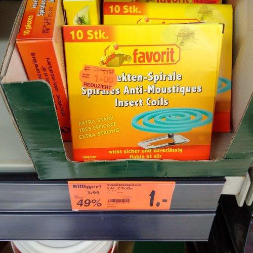 favorit Insektenspirale 10er Pack - jetzt 50% billiger
