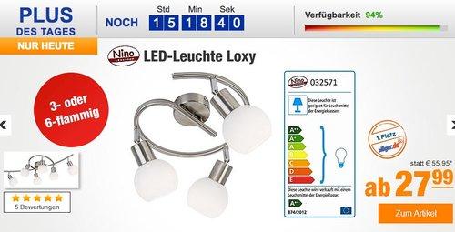Nino LED-Spiralleuchte Loxy - jetzt 19% billiger