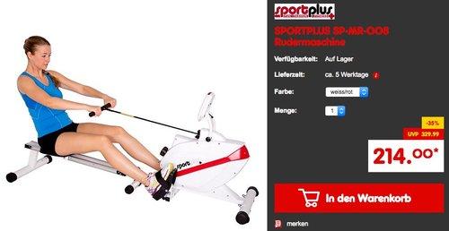 SPORTPLUS SP-MR-008 Rudermaschine - jetzt 14% billiger