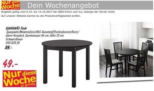 IKEA BJURNÄS Tisch - jetzt 45% billiger