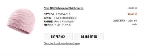 Nike SB Fisherman Strickmütze - jetzt 23% billiger