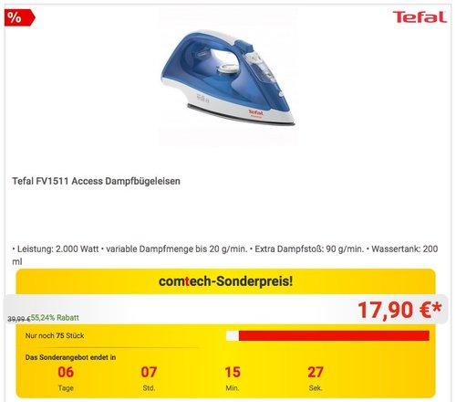 Tefal FV1511 Access Dampfbügeleisen - jetzt 25% billiger