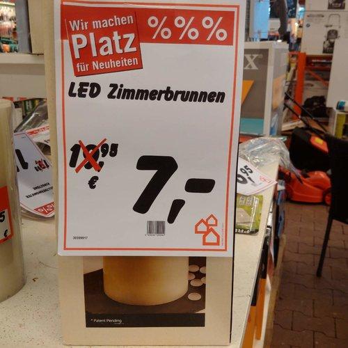 LED Zimmerbrunnen  - jetzt 65% billiger