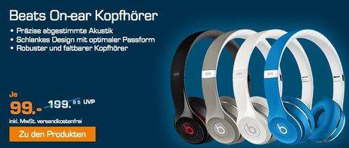 BEATS SOLO 2 LUXE, On-ear Kopfhörer  - jetzt 23% billiger