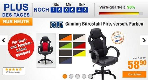 CLP Gaming Büro-Stuhl FIRE - jetzt 18% billiger