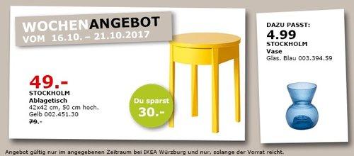 IKEA STOCKHOLM Ablagetisch - jetzt 38% billiger