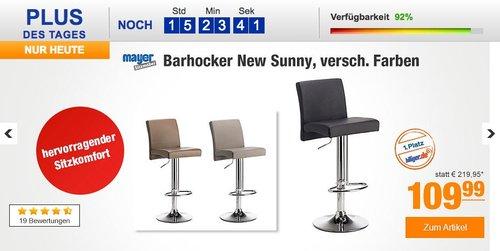 Mayer Barhocker Tresenhocker NEW SUNNY - jetzt 10% billiger