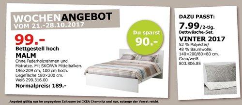 IKEA MALM Bettgestell - jetzt 48% billiger