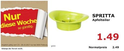 IKEA SPRITTA Apfelteiler - jetzt 40% billiger