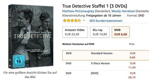 True Detective Staffel 1 [3 DVDs] - jetzt 39% billiger