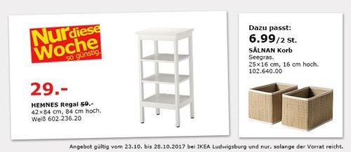 IKEA HEMNES Regal - jetzt 51% billiger