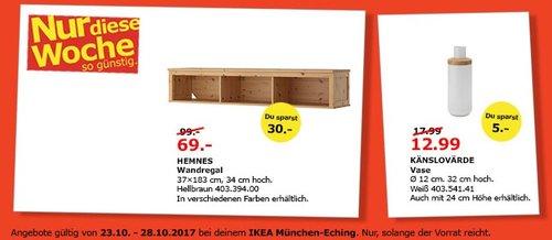 IKEA HEMNES Wandregal - jetzt 30% billiger