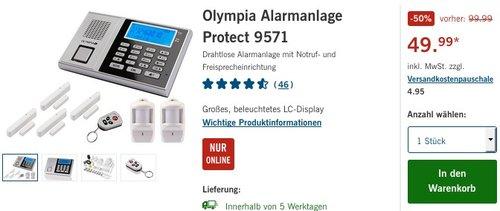 Olympia Alarmanlage Protect 9571 - jetzt 35% billiger