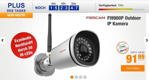 Foscam Outdoor IP Kamera FI9900P - jetzt 16% billiger
