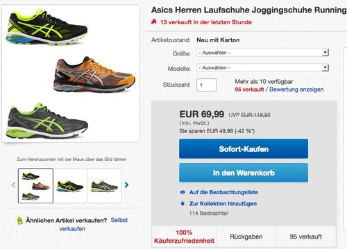 Asics GT-2000 4 Lite-Show PlasmaGuard Herren Laufschuhe - jetzt 12% billiger