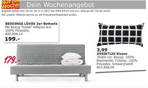 IKEA BEDDINGE LÖVAS 3er-Bettsofa - jetzt 10% billiger