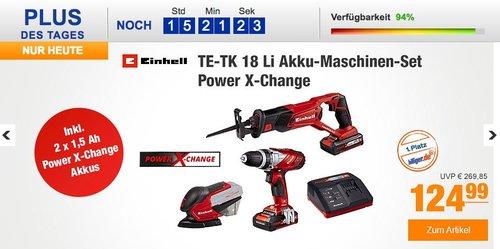 Einhell Maschinen/Werkzeug-Set TE-TK 18 Li Power X-Change - jetzt 6% billiger