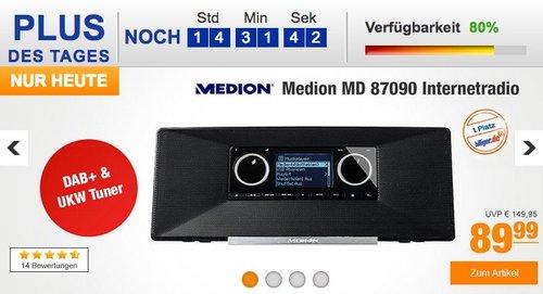 MEDION MD 87090 Internetradio mit DAB+  - jetzt 5% billiger
