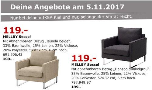 IKEA MELLBY Sessel - jetzt 40% billiger