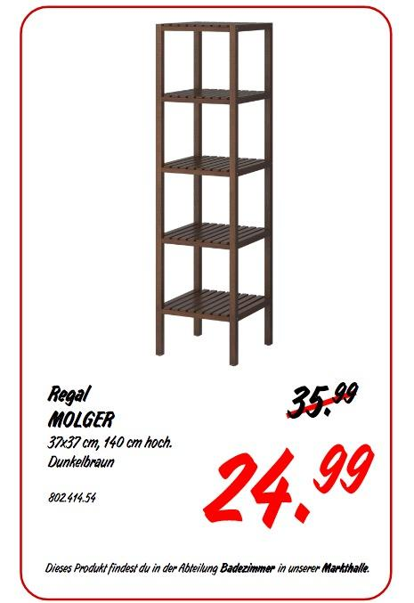 IKEA MOGLER Regal - jetzt 31% billiger