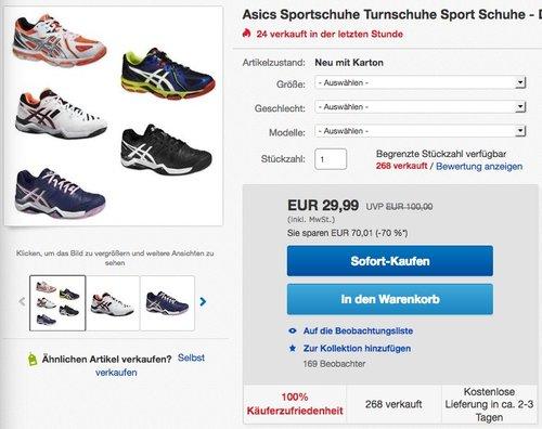 Asics Gel-Challenger 10Asics Gel-Challenger 10  Tennisschuhe - jetzt 25% billiger