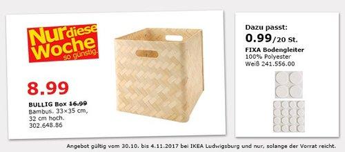 IKEA BULLIG Box - jetzt 47% billiger