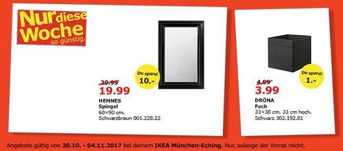 IKEA HEMNES Spiegel - jetzt 33% billiger