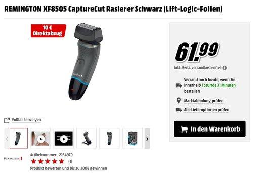Remington XF8505 CaptureCut Rasierer - jetzt 16% billiger