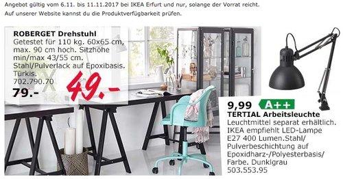 IKEA ROBERGET Drehstuhl - jetzt 38% billiger