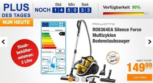 Rowenta RO8364EA Bodenstaubsauger Silence Force - jetzt 21% billiger