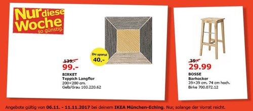 IKEA BIRKET Teppich - jetzt 29% billiger
