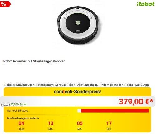 iRobot Roomba 691 Staubsauger Roboter - jetzt 16% billiger