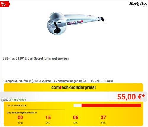 BaByliss C1201E Curl Secret Ionic Welleneisen - jetzt 21% billiger