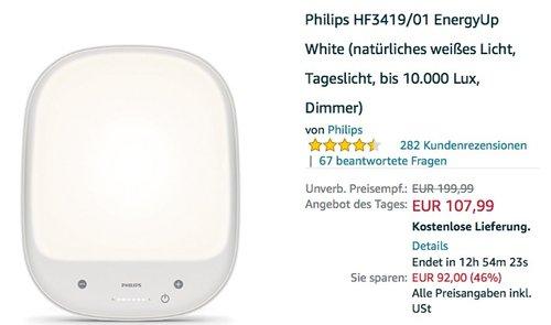Philips HF3419/01 EnergyUp  - jetzt 16% billiger