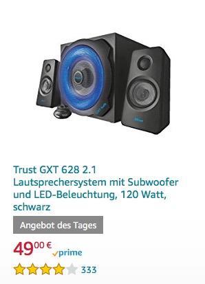 Trust GXT 628 2.1 Lautsprechersystem - jetzt 15% billiger