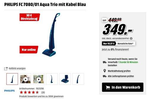 PHILIPS FC 7080/01 Aqua Trio - jetzt 8% billiger