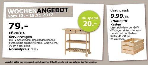 IKEA FÖRHÖJA Servierwagen - jetzt 20% billiger