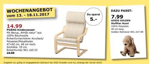 IKEA POÄNG Kindersessel - jetzt 25% billiger